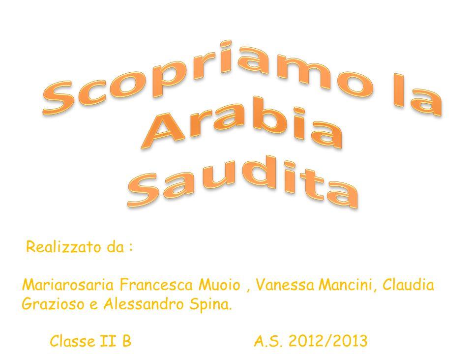 Realizzato da : Mariarosaria Francesca Muoio, Vanessa Mancini, Claudia Grazioso e Alessandro Spina. Classe II B A.S. 2012/2013