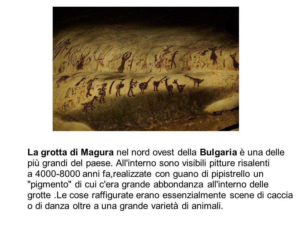 La grotta di Magura nel nord ovest della Bulgaria è una delle più grandi del paese. All'interno sono visibili pitture risalenti a 4000-8000 anni fa,re