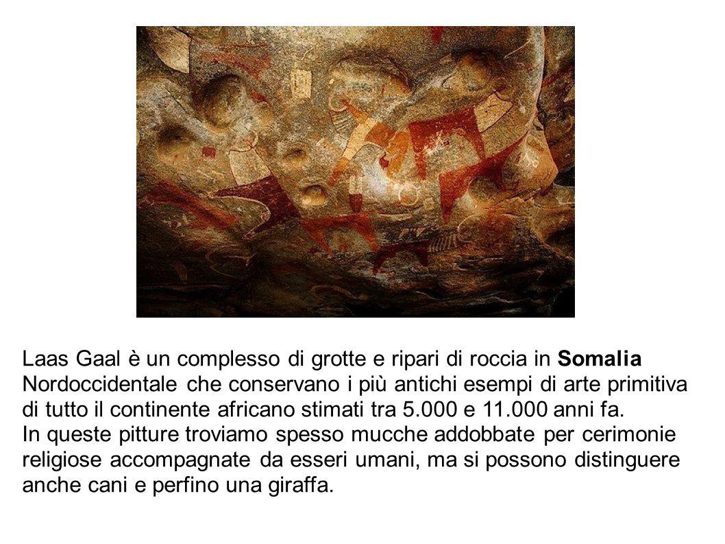 Laas Gaal è un complesso di grotte e ripari di roccia in Somalia Nordoccidentale che conservano i più antichi esempi di arte primitiva di tutto il con