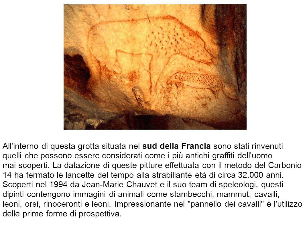 All'interno di questa grotta situata nel sud della Francia sono stati rinvenuti quelli che possono essere considerati come i più antichi graffiti dell