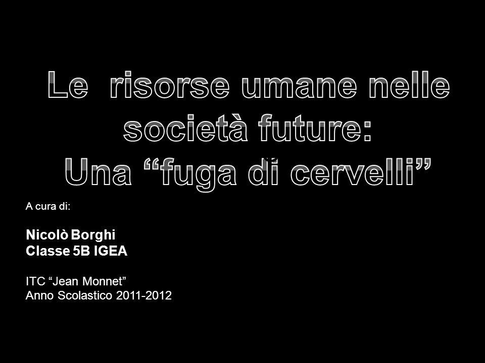A cura di: Nicolò Borghi Classe 5B IGEA ITC Jean Monnet Anno Scolastico 2011-2012 INTRO