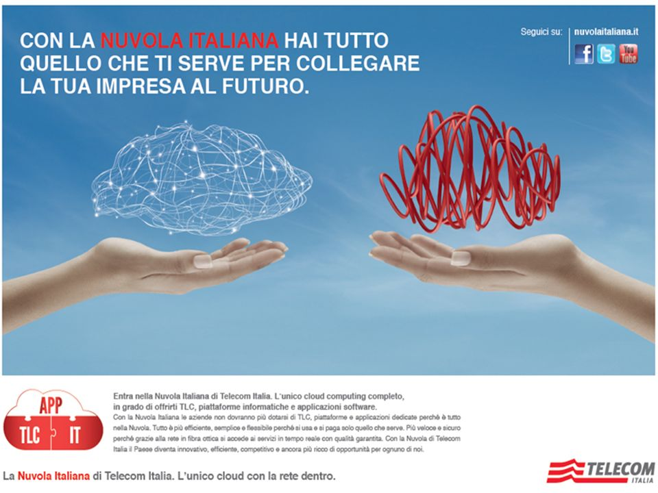 6 Gli Asset distintivi di Telecom Italia NGN Backbone Copertura Capilllarità Servizi ASSET DISTINTIVI NEXT GENERATION DATA CENTER NETWORKING VIRTUAL DATA CENTER NETWORK CENTRI SERVIZI DATA CENTER Shared Virtualized Architecture Control Room IT SOC NOC CNA 8 DC Nazionali