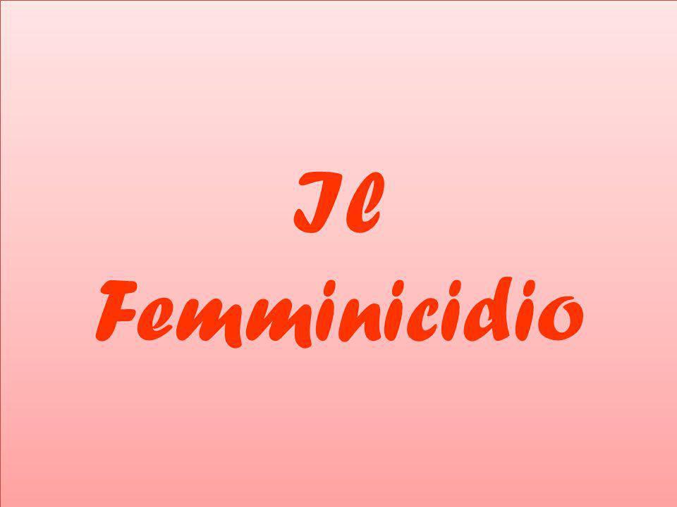 femminicidiofemicidio Il termine femminicidio, o femicidio, si riferisce alle violenze che vengono perpetrate dagli uomini ai danni delle donne in quanto tali, ossia in quanto appartenenti al genere femminile.