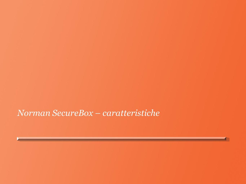 Norman SecureBox – caratteristiche