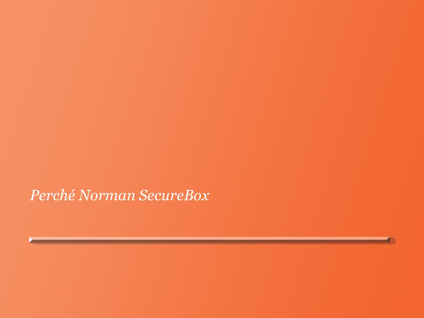 Perché Norman SecureBox