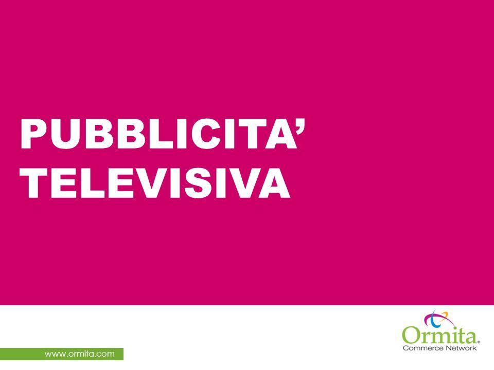 www.ormita.com PUBBLICITA TELEVISIVA