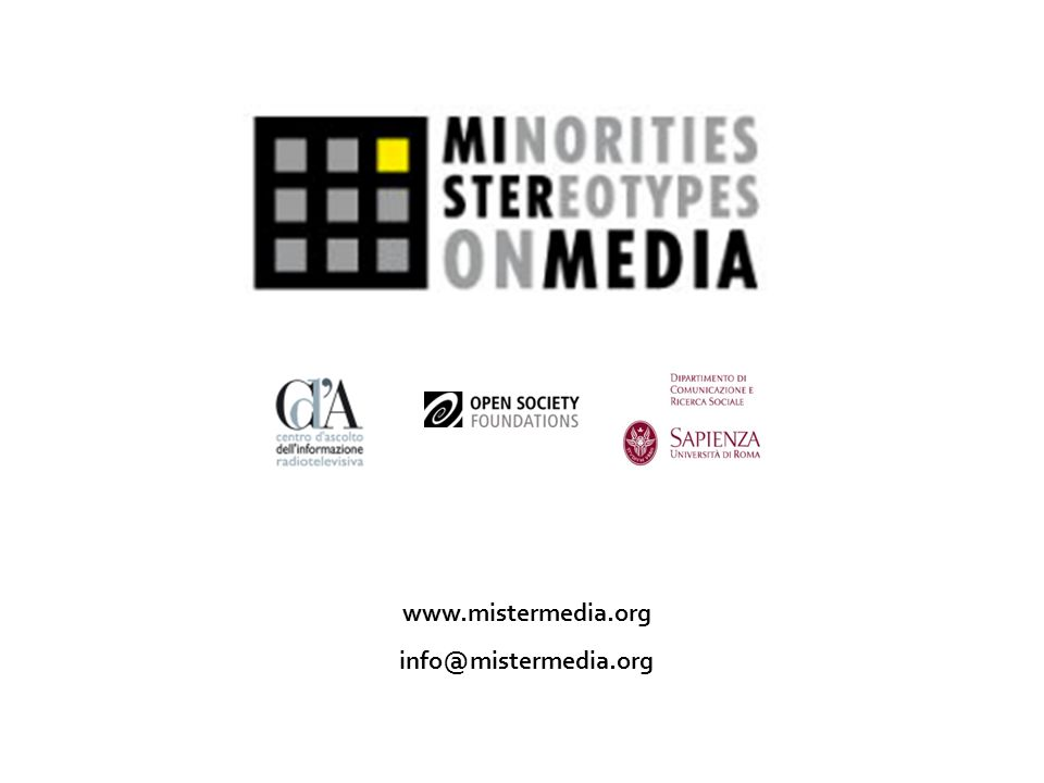 www.mistermedia.org info@mistermedia.org