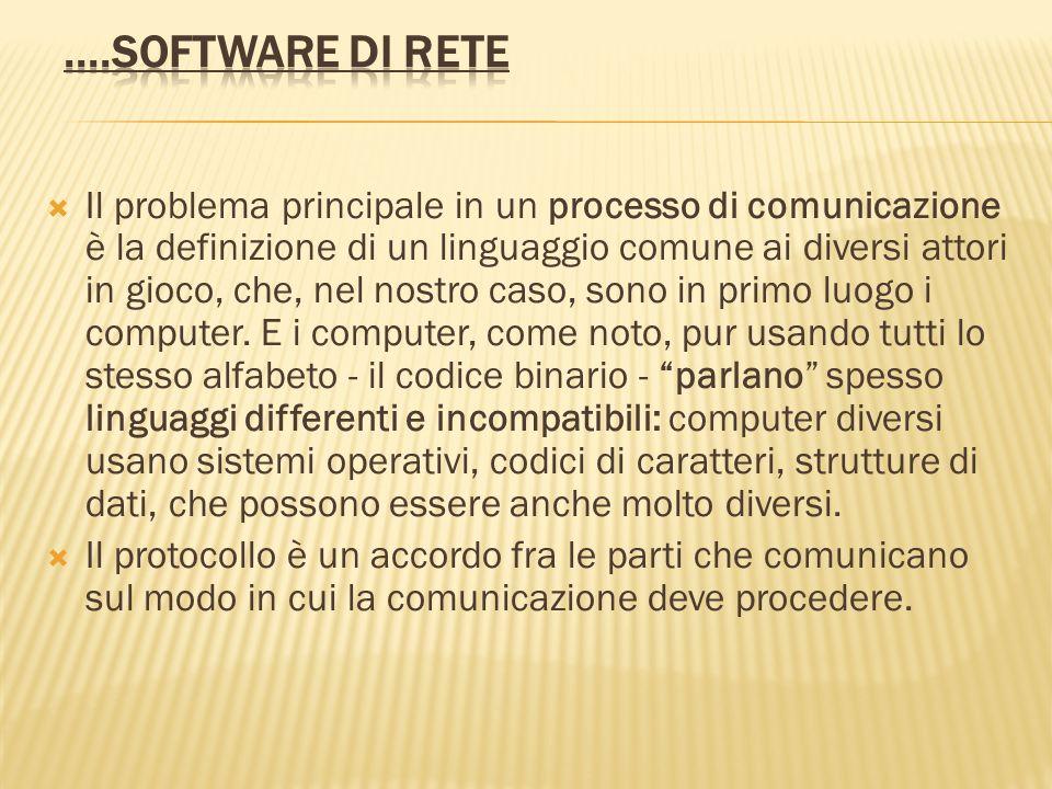 Il problema principale in un processo di comunicazione è la definizione di un linguaggio comune ai diversi attori in gioco, che, nel nostro caso, sono