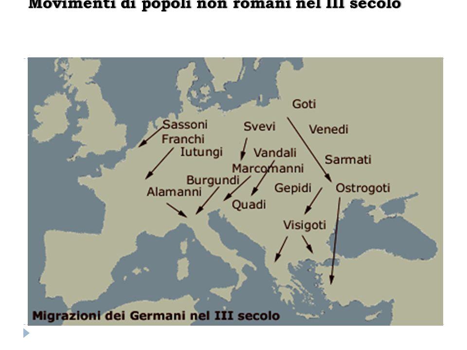 Movimenti di popoli non romani nel III secoloMovimenti di popoli non romani nel III secolo