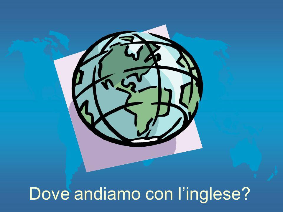 Dove andiamo con linglese?