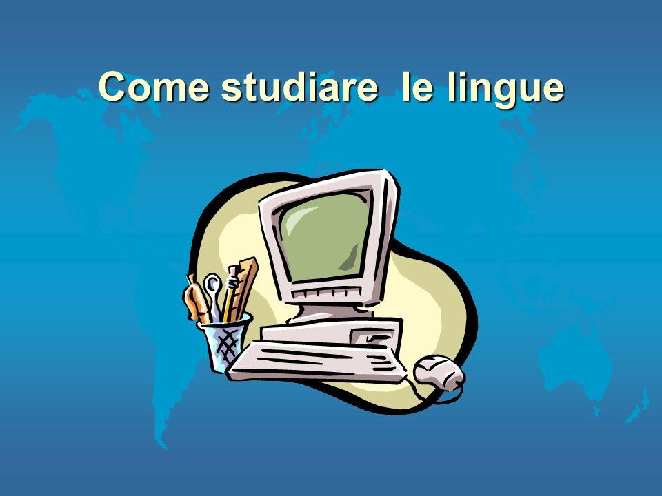 In Italia l Internet e TV satellitare l Supporti multimediali l Università Allestero l Vacanze studio l Lavoro l Soggiorni Internazionali (LLP- Erasmus)