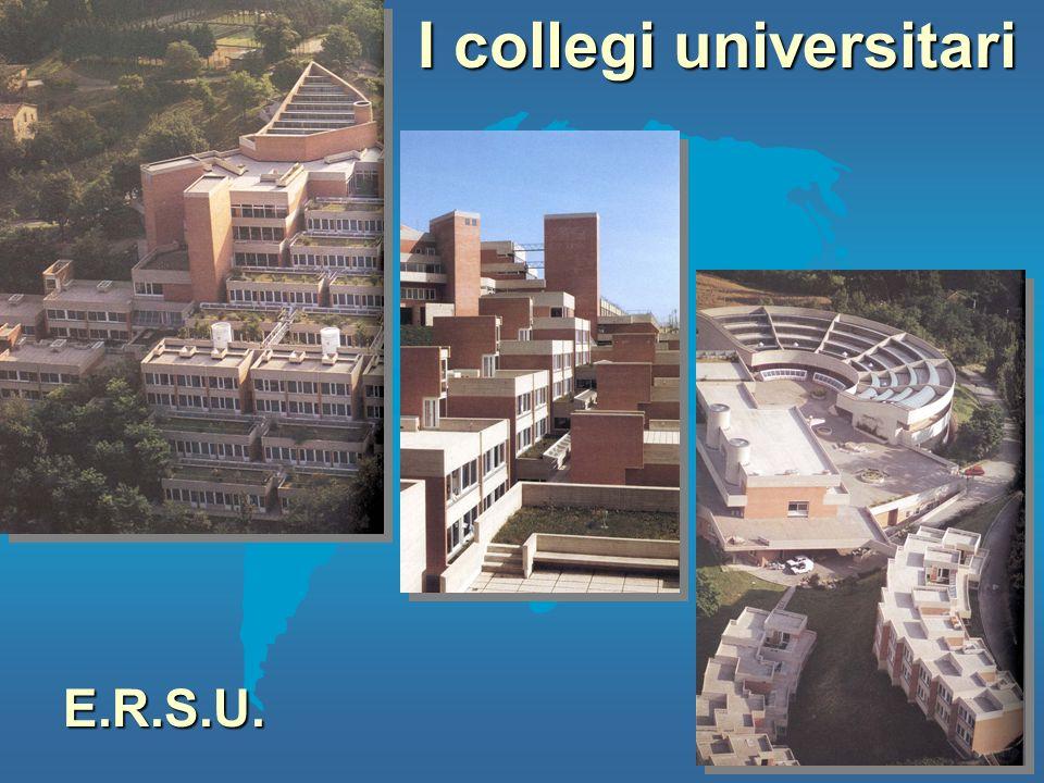 I collegi universitari E.R.S.U.