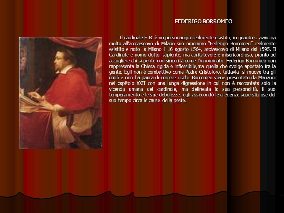 FEDERIGO BORROMEO FEDERIGO BORROMEO Il cardinale F.