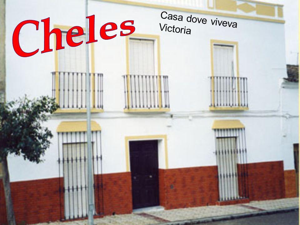 Paese, in provincia di Badajoz, dove Victoria rimane un anno scolastico