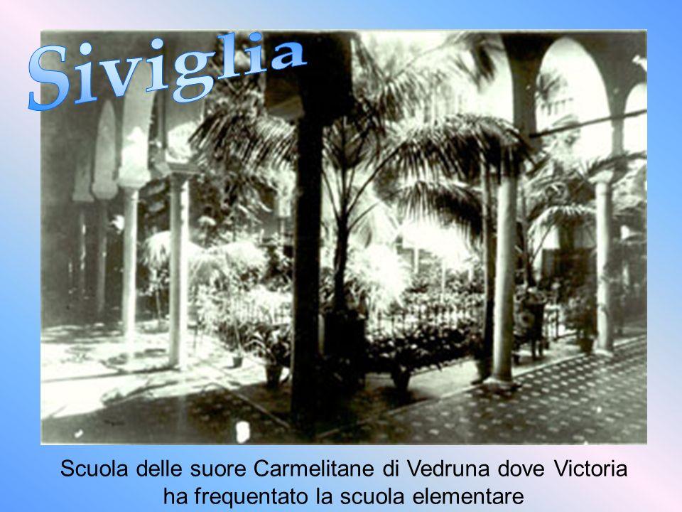 In questa casa nacque Victoria l11-11-1903