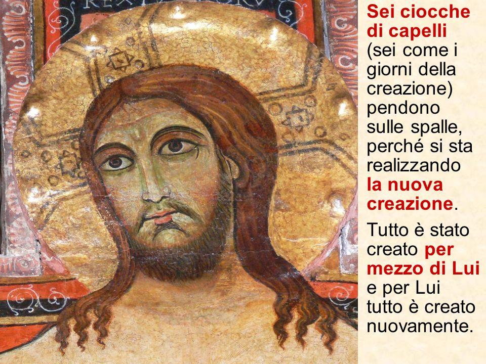 Anche il titulus crucis cioè la scritta con il motivo della condanna: Iesus Nazarenus Rex Iudeorum collocata sopra il capo di Gesù da Pilato e contest