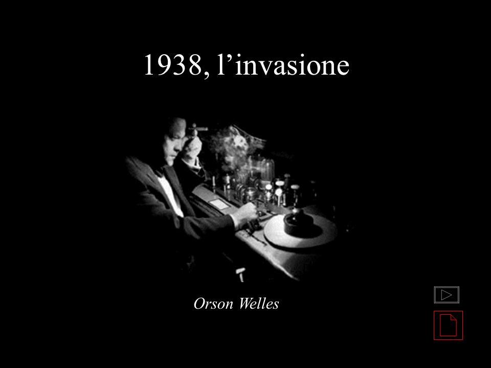 1938, linvasione Orson Welles