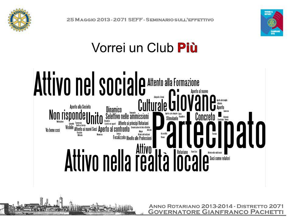 25 Maggio 2013 - 2071 SEFF - Seminario sull effettivo Grazie!