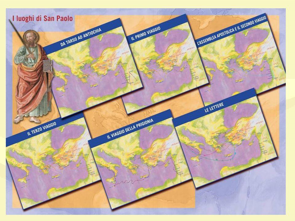 1^ VIAGGIO 1^ VIAGGIO Il primo viaggio missionario lo fece tra il 45 e il 49 annunciando il vangelo a Cipro e in Asia Minore.