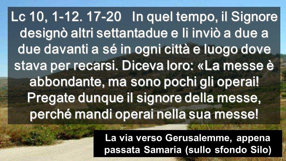I settantadue tornarono pieni di gioia, dicendo: «Signore, anche i demòni si sottomettono a noi nel tuo nome».
