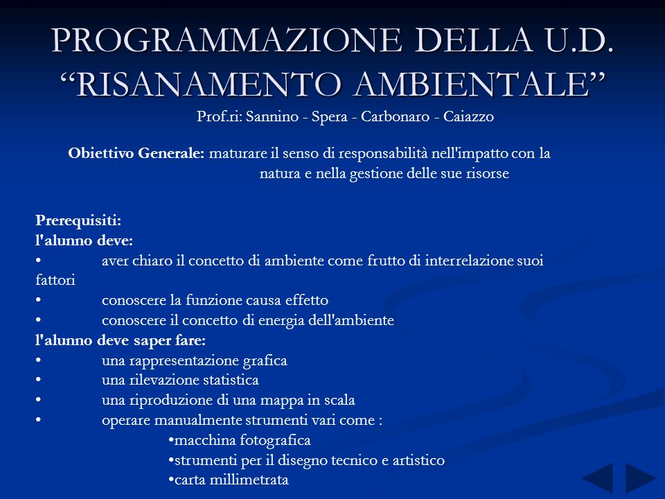 DOVE VANNO I NOSTRI RIFIUTI ? LA II A ANNO SCOLASTICO 1997/98