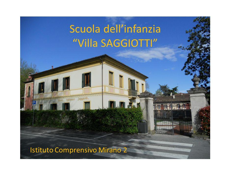 vi Scuola dellinfanzia Villa SAGGIOTTI Istituto Comprensivo Mirano 2