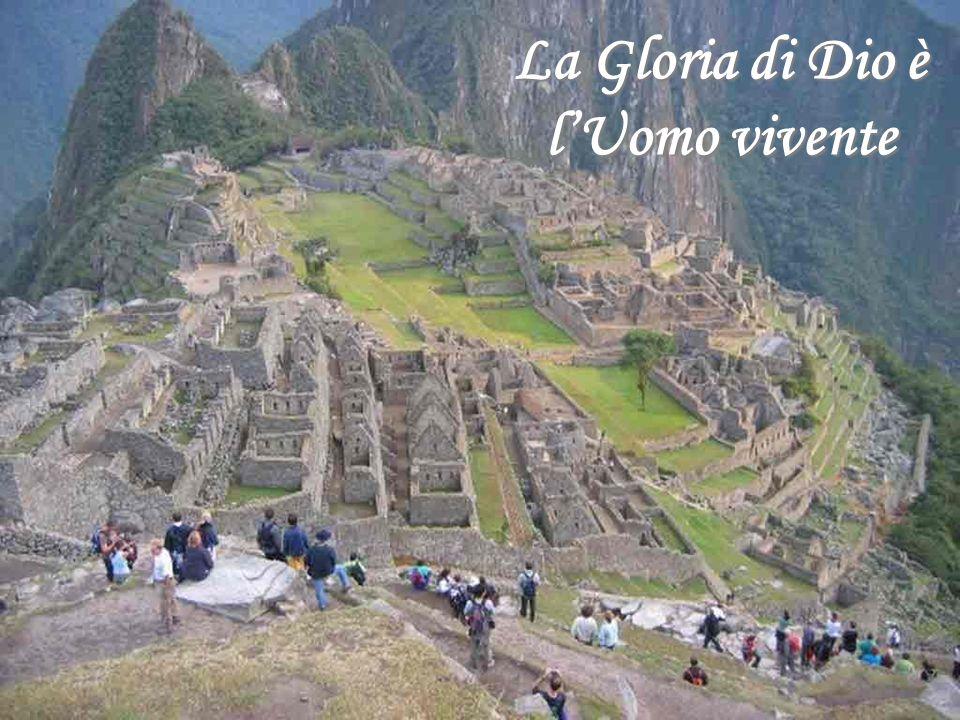 Lo Splendore di Dio sulla Terra Machu Picchu