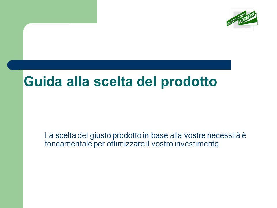 Step: 1 - Scelta del prodotto Contabanconote Questa selezione include i contabanconote con o senza valorizzazione e selezionatrici.
