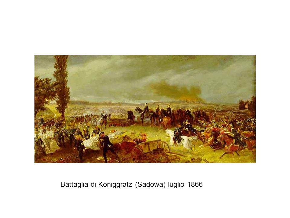 Battaglia di Koniggratz (Sadowa) luglio 1866