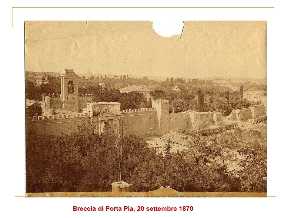 Breccia di Porta Pia, 20 settembre 1870