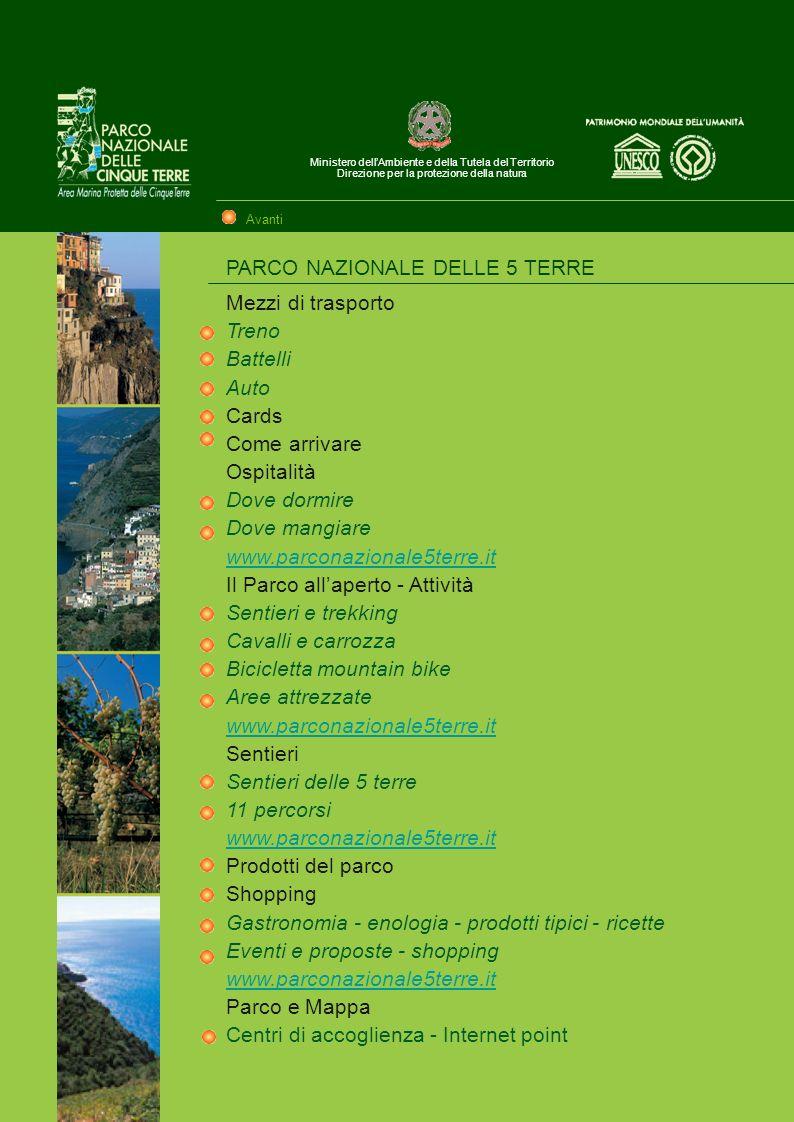Ministero dellAmbiente e della Tutela del Territorio Direzione per la protezione della natura Tutte le informazioni necessarie per conoscere meglio il