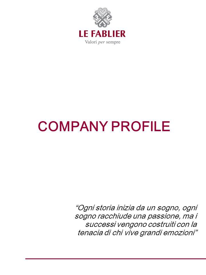 LAZIENDA : STORIA E MISSION Le Fablier, dal francese raccolta di favole, è unazienda leader nella produzione di mobili classici in legno pregiato.