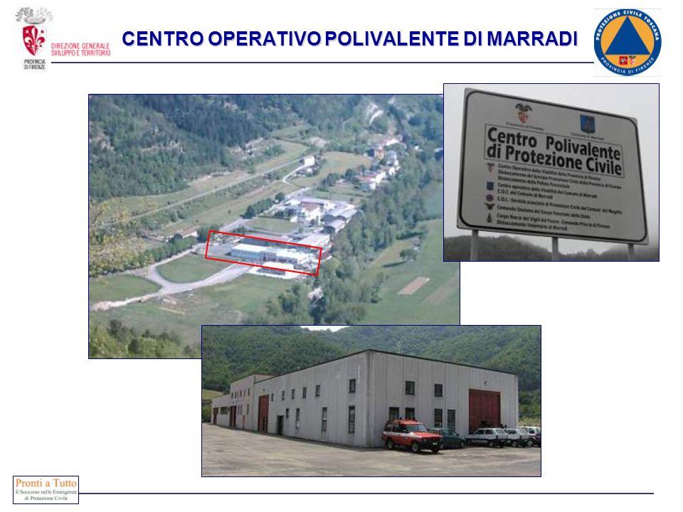 Immediatamente attivabili COMPOSIZIONE CENTRO OPERATIVO POLIVALENTE DI MARRADI