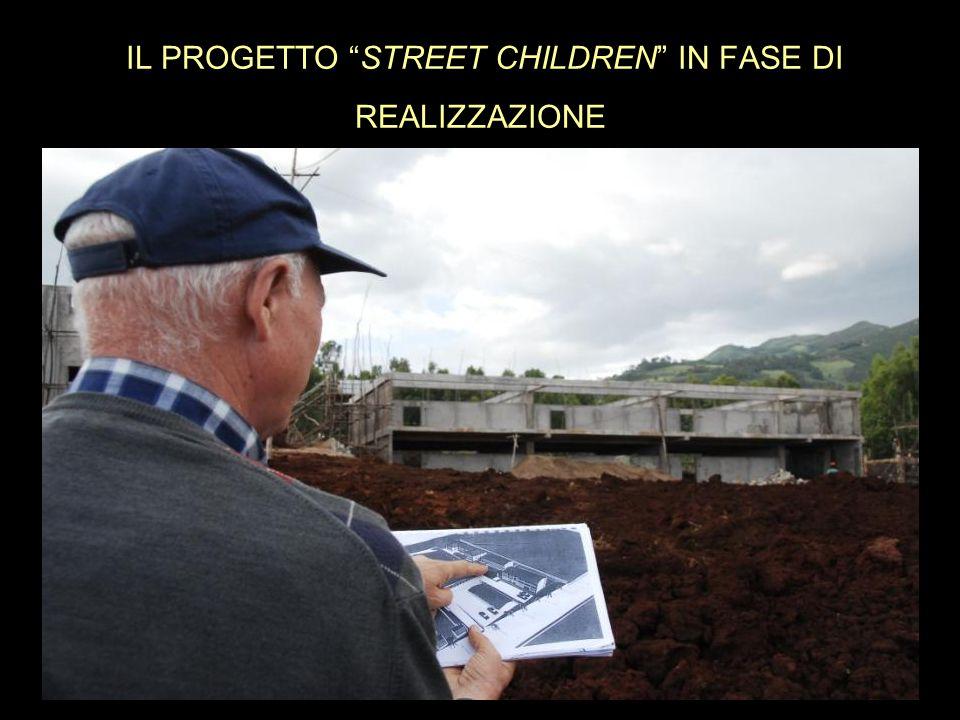 IL PROGETTO STREET CHILDREN IN FASE DI REALIZZAZIONE