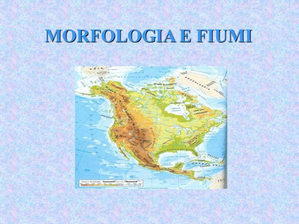 MORFOLOGIA E FIUMI