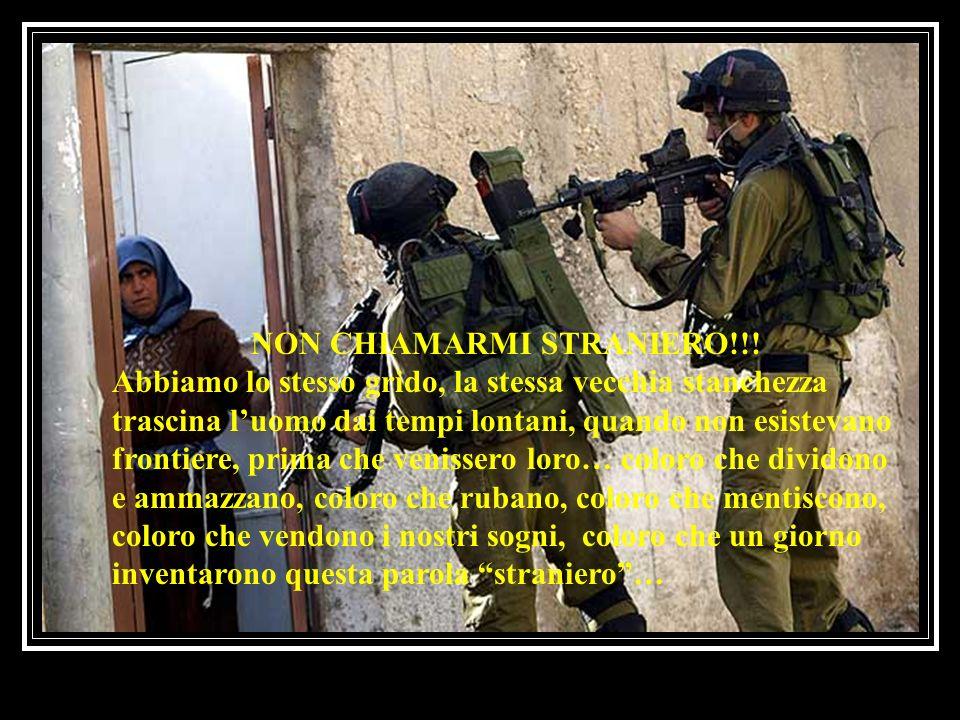 NON CHIAMARMI STRANIERO!!.