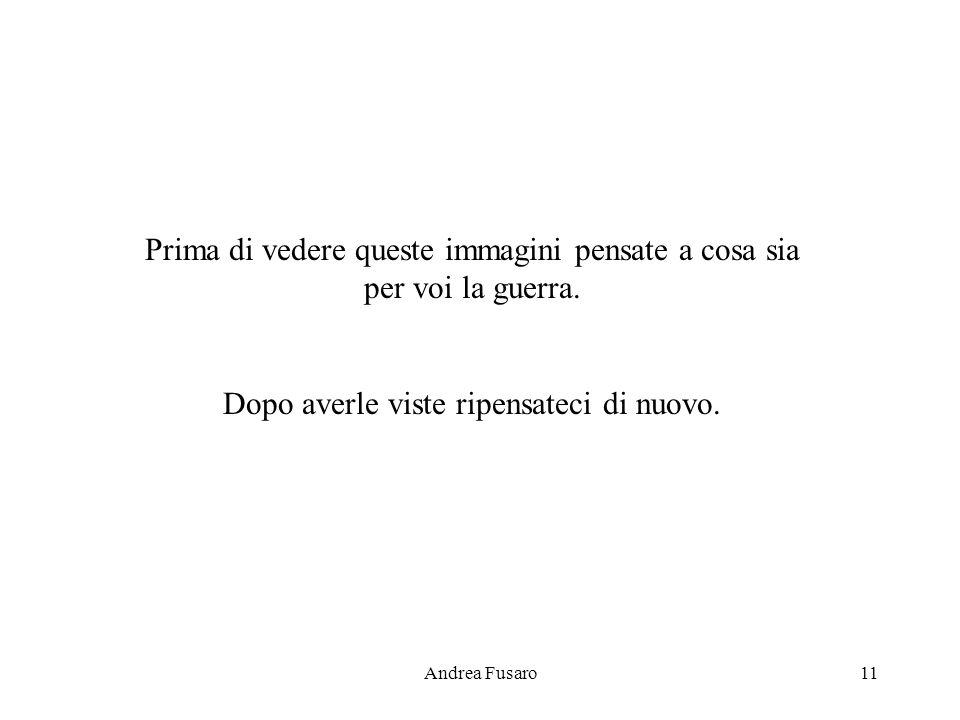 Andrea Fusaro10 Lautore Mi chiamo Andrea Fusaro e sono nato nel 1988, ora che scrivo ho 15 anni. Sono tanto giovane che non mi posso nemmeno immaginar