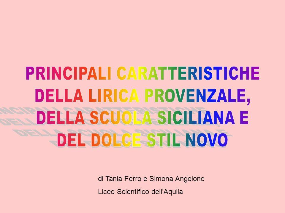 di Tania Ferro e Simona Angelone Liceo Scientifico dellAquila