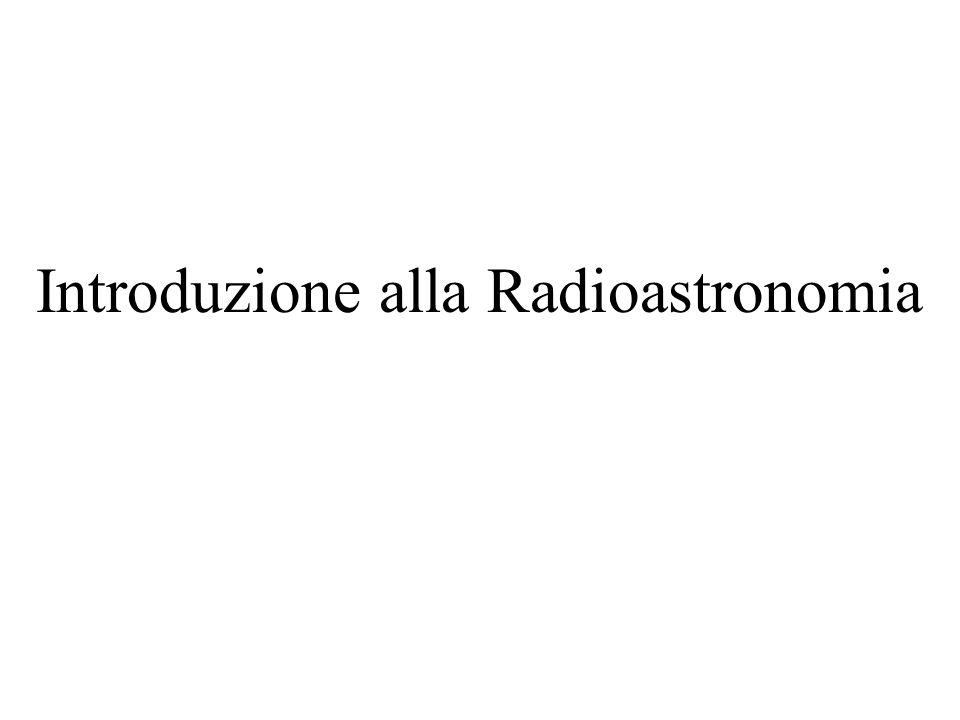 Introduzione alla Radioastronomia