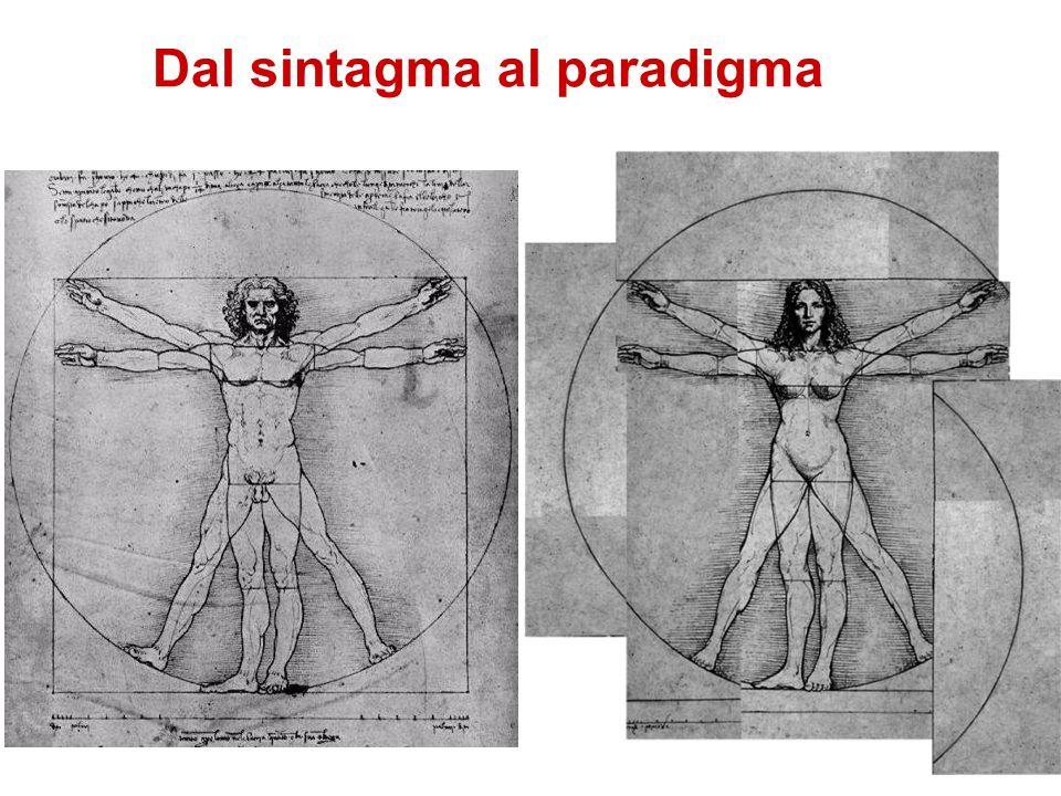 Dal sintagma al paradigma