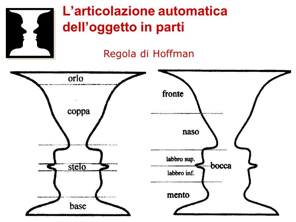 Regola di Hoffman Larticolazione automatica delloggetto in parti