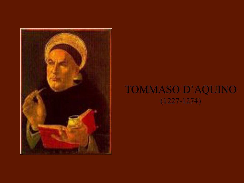 TOMMASO DAQUINO (1227-1274)