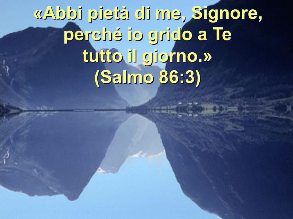 Questo è lEterno in cui abbiamo sperato; esultiamo e rallegriamoci nella Sua salvezza!.» (Isaia 25:8-9) (Isaia 25:8-9)
