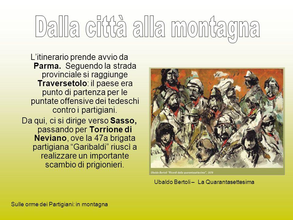 Litinerario prende avvio da Parma.