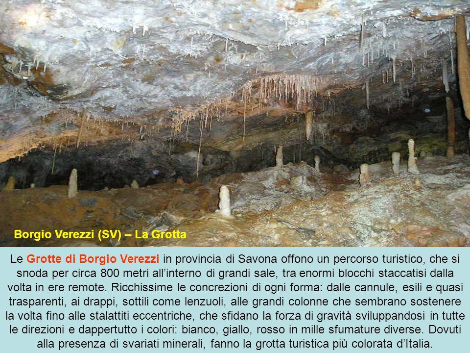 Montebello Ionico (RC) – Grotta della Làmia A circa 4 km. dal centro abitato di Fossato Ionico si può visitare la Grotta della Làmia, caratterizzata d