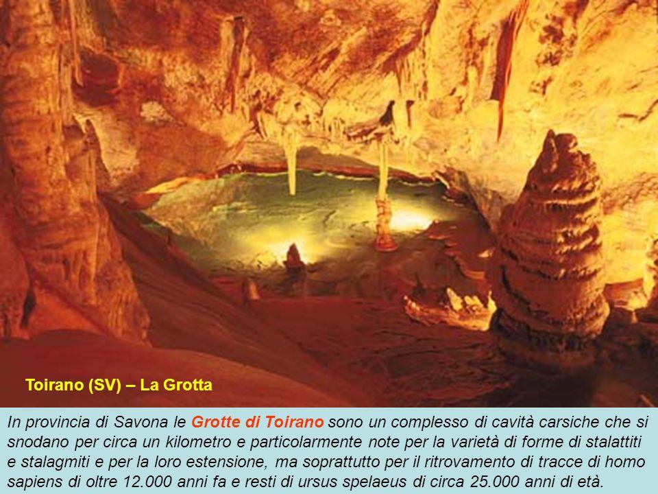 Le Grotte di Borgio Verezzi in provincia di Savona offono un percorso turistico, che si snoda per circa 800 metri allinterno di grandi sale, tra enorm