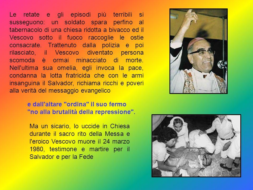 Le pubbliche votazioni elettorali sono ostacolate a costo di far scorrere il sangue: monsignor Romero dapprima prudente è accusato di essere dalla par