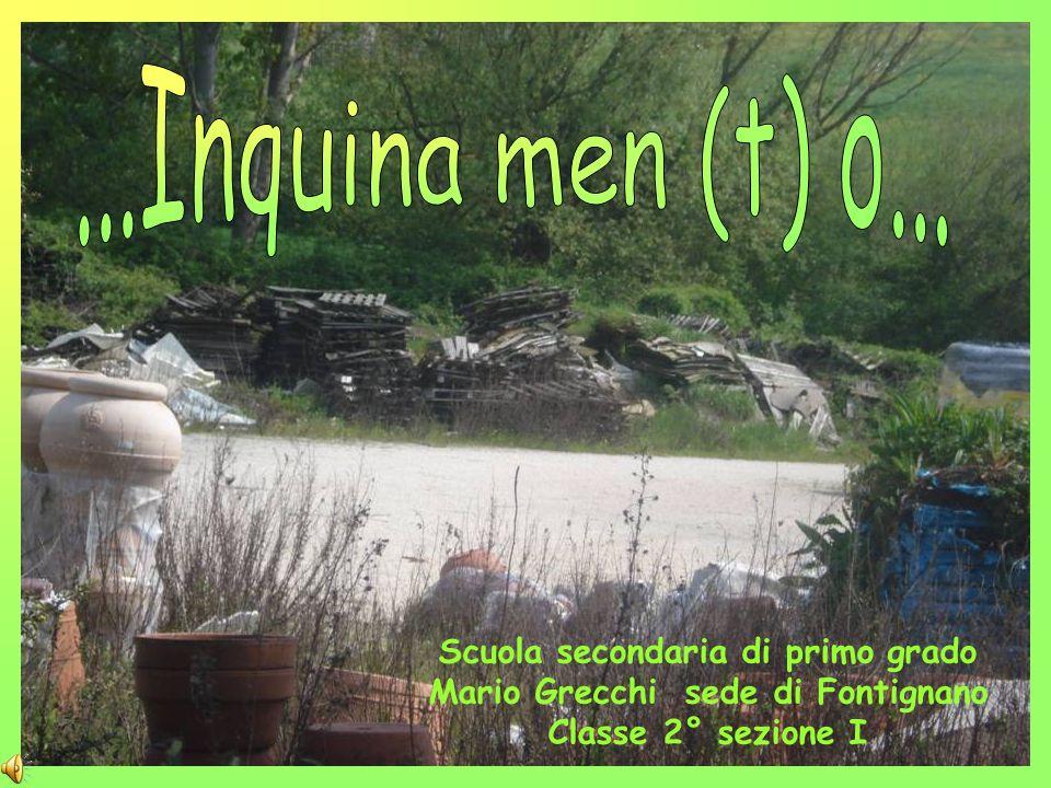 Scuola secondaria di primo grado Mario Grecchi sede di Fontignano Classe 2° sezione I