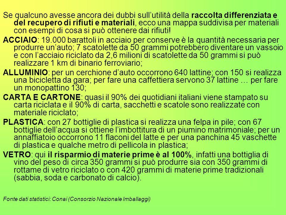 IL RICICLO DEI RIFIUTI ORGANICI I residui domestici (verdure, ortaggi, pasta, pane, carne, ossa, gusci,ecc..), possono essere trattati: la decomposizi