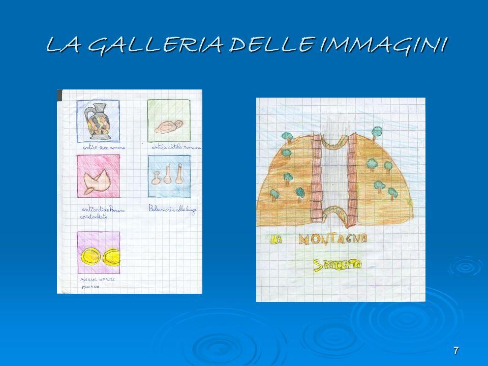 7 LA GALLERIA DELLE IMMAGINI